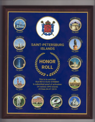 Honor Roll plaque